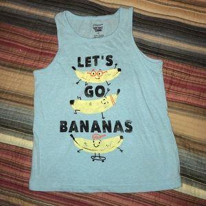 Boys Banana Tank